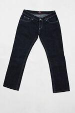 Rifle jeans femmes square cut straight leg dark blue denim taille basse W31 UK14