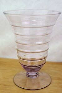 Princess House Pastel Parfait Glasses Footed Rings BUYER'S CHOICE