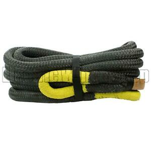 Warrior Yellow Eye Kinetic Recovery Rope 32mm x 9m 21000kg