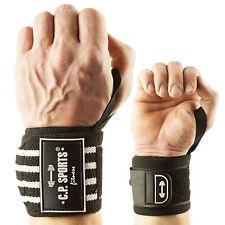 Strongman-Handgelenkbandagen mit extra breitem Klettverschluss C.P. Sports sww