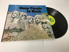 Deep Purple - In Rock LP UK 1970 VINYL LP  A2/B1 MINT/NR MINT SHVL 7777