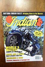 Indian Motorcycle Illustrated Magazine July 1995 FREE SHIPPING!