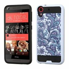 Patterned Rigid Plastic Fitted Cases for HTC Cell Phones