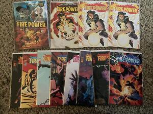 Firepower 1 2 3 4 5 6 7 8 9 Robert Kirkman - Prelude, Gold Foil Lot Of 12 Comic
