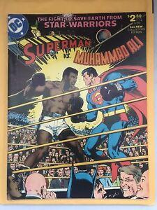Collectors Edition Superman vs. Muhammad Ali Large Comic 1978 GOOD CONDITION