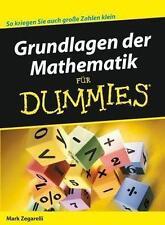 Grundlagen der Mathematik für Dummies von Zegarelli, Mark | Buch | NEU