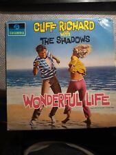 CLIFF RICHARD + THE SHADOWS WONDERFUL LIFE VINYL LP