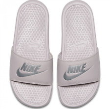 competitive price 3386e 6d5a4 Womens Nike Benassi JDI Synthetic Rose Branded Footwear Shoes Slide Casual 4.5  UK