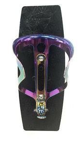 Supacaz Cycling Oil Slick/Jet Fuel Ano Fly Bicycle Water Bottle Cage 18g