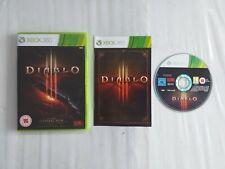 DIABLO III XBOX 360 GAME GOOD CONDITION
