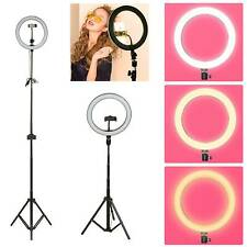 "10"" 1.78m LED Ring Light with Tripod Dimmable Lighting Kit Makeup Youtube Live"