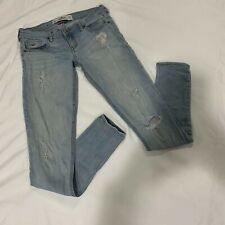 Hollister California 1R SoCal Stretch Distressed Light Wash Jeans W 25 L 31