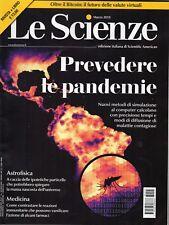 Le Scienze 2018 595.Prevedere le pandemie