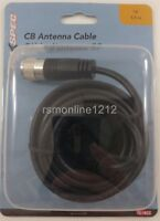 TruckSpec TS-18CC 18 Foot RG58 A/U Molded Ends CB/HAM Radio Antenna Coax Cable
