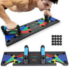 9 In 1 Push Up Rack Board Strength Training Body Building Fitness Exercise Stand