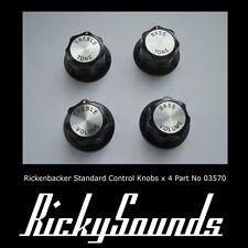 Rickenbacker Estándar Control Perillas- Set De 4 Piezas