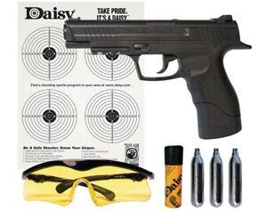 Daisy Powerline 415 CO2 Powered Semi-Auto .177 BB Black Air Pistol Kit (Refurb)