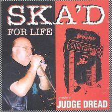 JUDGE DREAD SKA'D FOR LIFE CD HARDCORE PUNK ROCK SKA REGGAE MAGNUM UK IMPORT