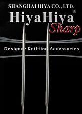 "HiyaHiya Sharp 24"" Stainless Steel Circular Knitting Needles, Choose Size"