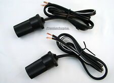 2 Lot Atv Motorcycle Cigarette Lighter 12v Power Port