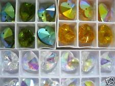 Glass Beads, Shape Crystal Charm Beads, Craft beading Jewelry 5pcs set mixed