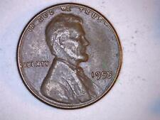 1955 D Lincoln Cent Error on #5