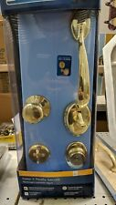 Schlage F60 V PLY 505 ACC Plymouth Handle Set with Accent Lever Interior, Bright