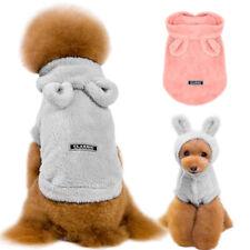 Dog Pajamas Chihuahua Clothes Pet Cat Puppy Pyjamas Hoodie Warm Fleece Sleepwear