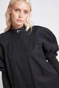 Aje Black Blouse Size 6
