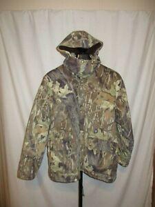Cabela's Super Slam Clothing Insulated Jacket/Parka -Large - Mossy Oak Breakup