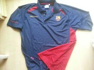 FC Barcelona SPANIEN Rogers-FCB-Barca-Polo-Hemd-Shirt-Shortsleeve XL neuw.SPAIN