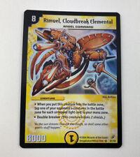 Duel Masters Rimuel Cloudbreak Elemental S1/S5 Shadowclash Super Rare Holo NM
