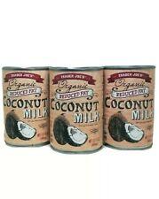 3 PACK Trader Joe's Organic Reduce Fat Coconut Milk 13.5 fl oz each Pack