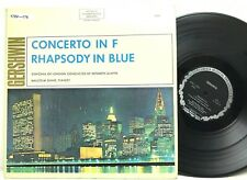 Gershwin Rhapsody In Blue/An American In Paris/Concerto in F Vinyl Record Album