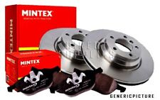 MINTEX REAR BRAKE SET DISCS, PADS FOR FORD JAGUAR MDK0222 (REAL IMAGE OF PART)