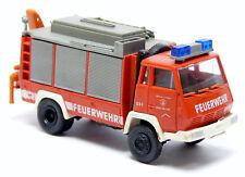 Roco 1328 Steyr 91 SRF RW Rüstwagen Kran Feuerwehr Hallein rot 1:87 H0 .