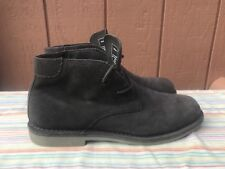 Andrew Marc New York Men's SZ US 8.5 Gray Suede Ankle Chukka Boot  Lace-up  $198