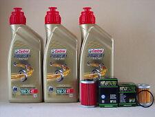 Castrol Alimentación 1 Carreras 10W50 Aceite + Filtro de aceite KTM 660