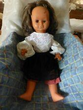 45cm gégé ,poupée vintage yeux dormeurs ,,habillée