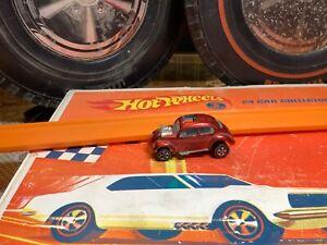 Original hot wheels redline custom Volkswagen red