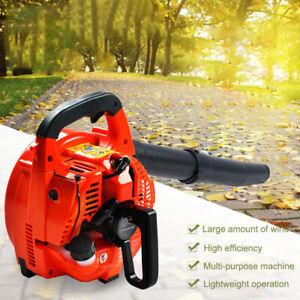 3-in-1 Petrol Leaf Blower 26cc Vacuum Mulcher & Shredder Outdoor Garden uk