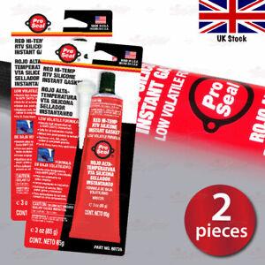 2x PS High Temp Silicone Sealant GLUE install BREMBO Disc Brake Caliper COVERS
