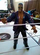 THE ROCK ACTION FIGURE Purple Jacket Rock Figure WWE WRESTLING Figures WWF WCW