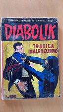 DIABOLIK anno IX n. 10  Tragica maledizione  ORIGINALE  Sodip 1970