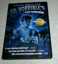 Dr. Horribles Sing-Along Blog DVD 2008 Neil Patrick Harris Wide Screen