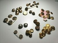 Vintage Lot of Metal Buttons