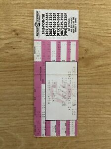 Anfernee Penny Hardaway Nba Debut Ticket Orlando Magic 1993 11/5/93 RC