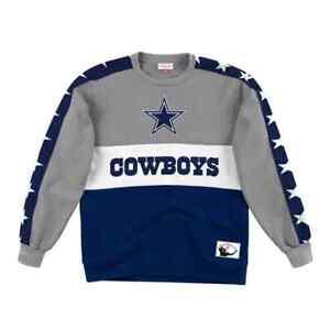 Dallas Cowboys Mitchell & Ness NFL Leading Scorer Fleece Crew Sweatshirt