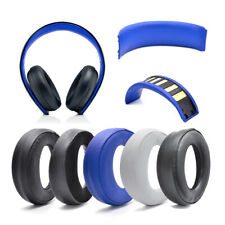 Headband Ear pads cushion for Sony PlayStation Gold Wireless Stereo Headset 0083