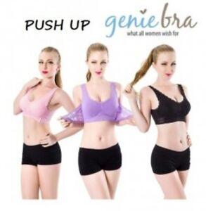 PUSH UP GENIE BRA - 7 COLOUR & 4 SIZE